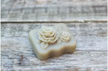 Szt Rókus Diólevélfőzetes szappan kettős rózsa (70g)