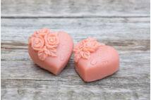 Rózsavarázs szappan szivek (2x40g)