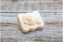Kókusztej szappan kettős rózsa (70g)