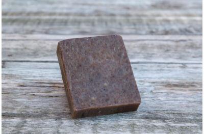 Szőlőmagolajos vörösboros szappan szelet