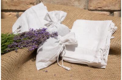 Textilzsák - Fehér