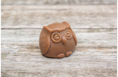Belga Csokoládé szappan bagoly